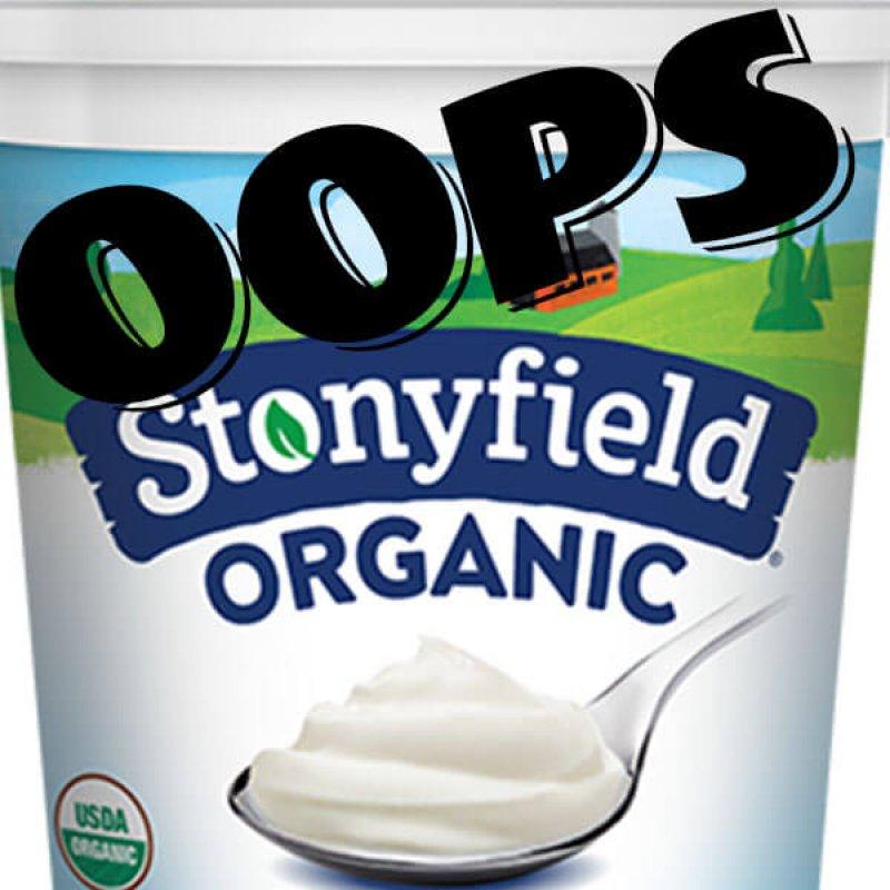 stonyfield x