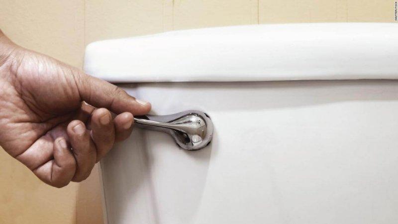 toilet flush stock super tease
