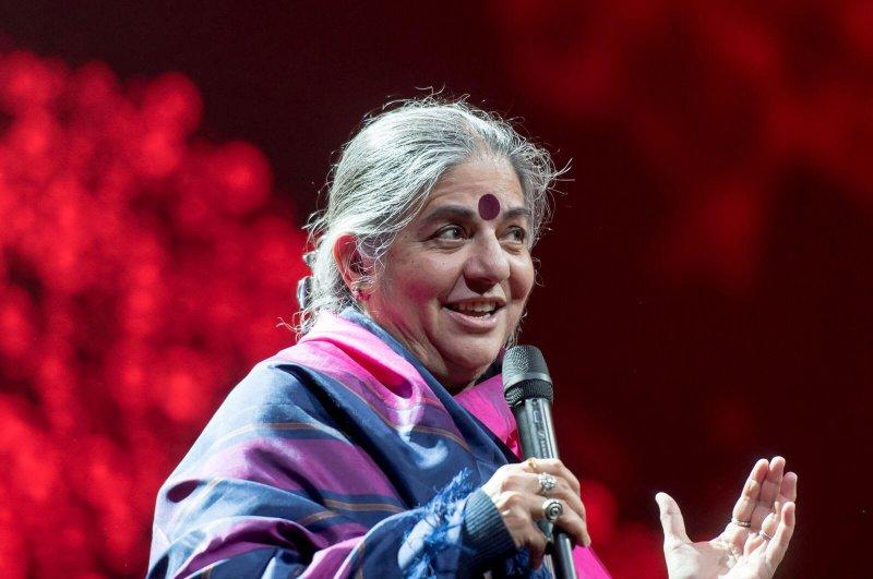 Vandana Shiva. Credit: Frank Schwichtenberg