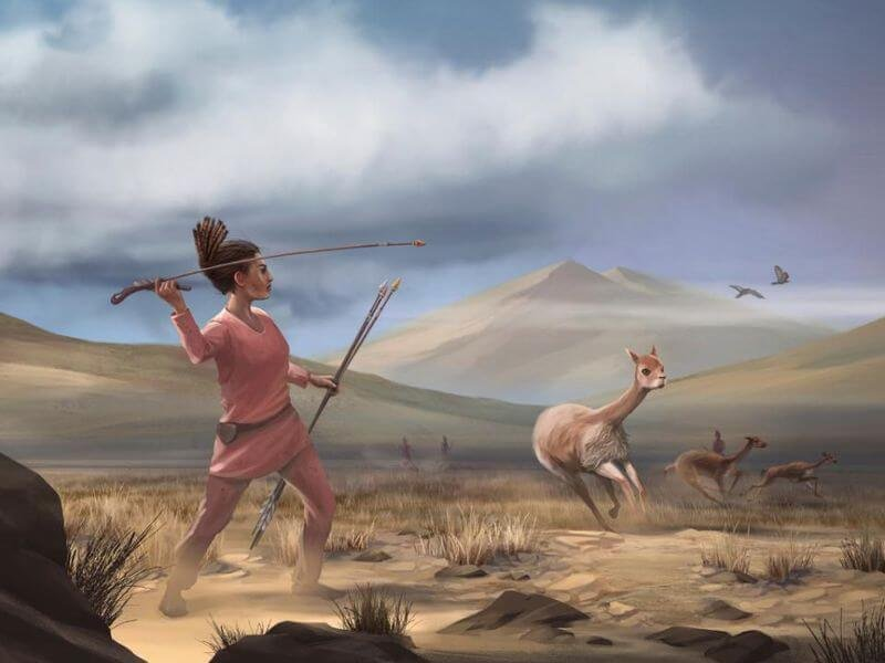 woman hunter new image
